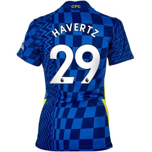 2021/22 Womens Nike Kai Havertz Chelsea Home Jersey