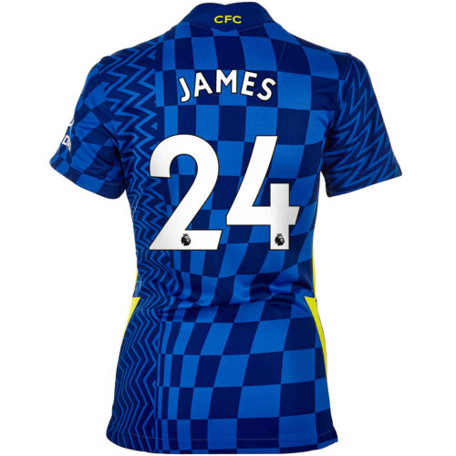 2021/22 Womens Nike Reece James Chelsea Home Jersey