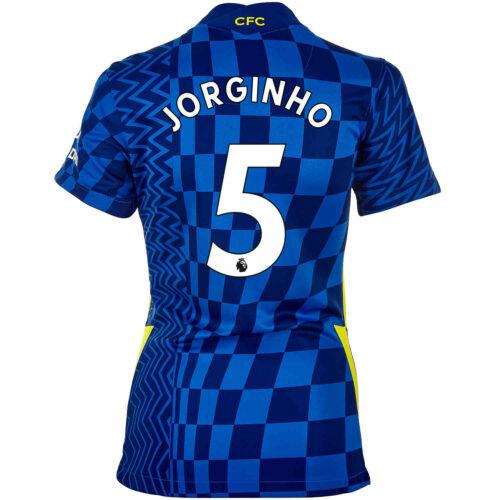 2021/22 Womens Nike Jorginho Chelsea Home Jersey