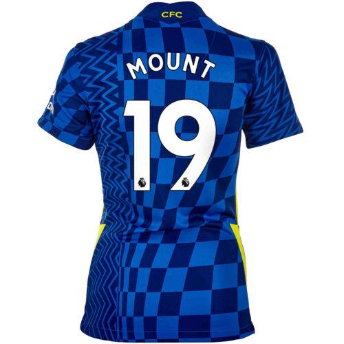 2021/22 Womens Nike Mason Mount Chelsea Home Jersey