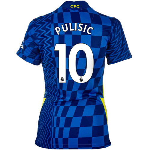 2021/22 Womens Nike Christian Pulisic Chelsea Home Jersey