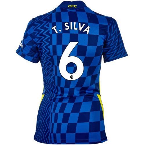 2021/22 Womens Nike Thiago Silva Chelsea Home Jersey