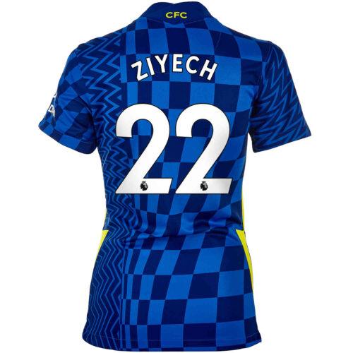2021/22 Womens Nike Hakim Ziyech Chelsea Home Jersey