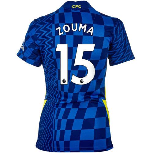 2021/22 Womens Nike Kurt Zouma Chelsea Home Jersey