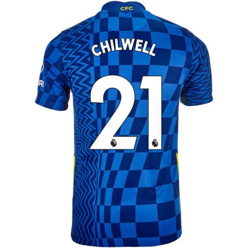 2021/22 Kids Nike Ben Chilwell Chelsea Home Jersey