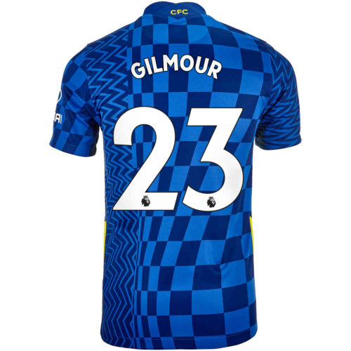 2021/22 Kids Nike Billy Gilmour Chelsea Home Jersey