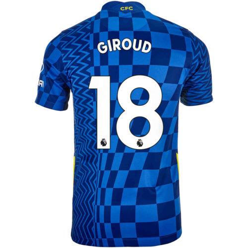 2021/22 Kids Nike Olivier Giroud Chelsea Home Jersey