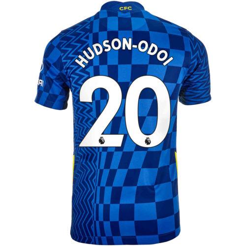 2021/22 Kids Nike Callum Hudson-Odoi Chelsea Home Jersey
