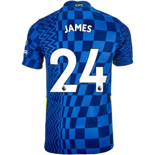 2021/22 Kids Nike Reece James Chelsea Home Jersey