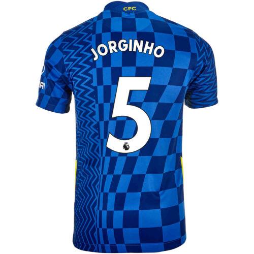 2021/22 Kids Nike Jorginho Chelsea Home Jersey