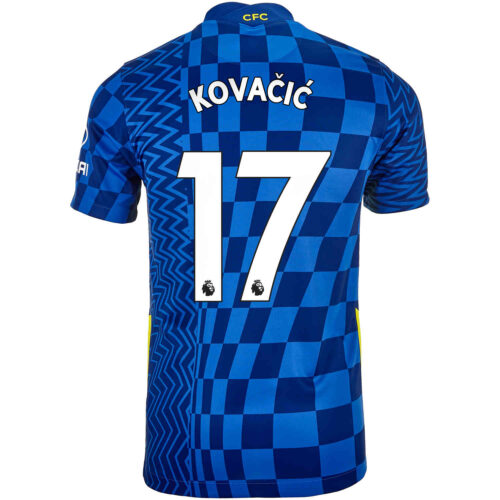 2021/22 Kids Nike Mateo Kovacic Chelsea Home Jersey