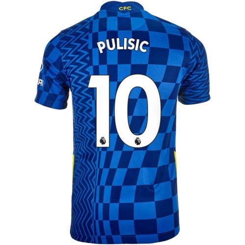 2021/22 Kids Nike Christian Pulisic Chelsea Home Jersey