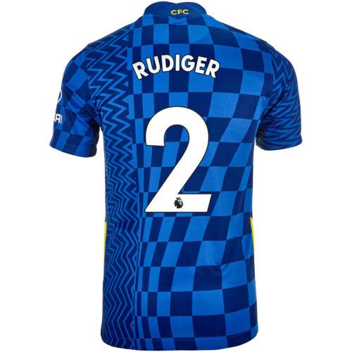 2021/22 Kids Nike Antonio Rudiger Chelsea Home Jersey