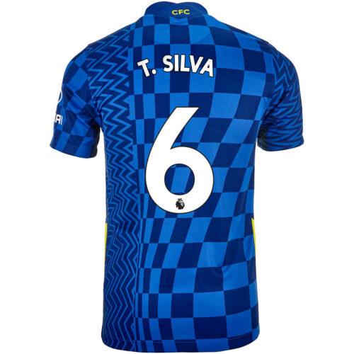 2021/22 Kids Nike Thiago Silva Chelsea Home Jersey