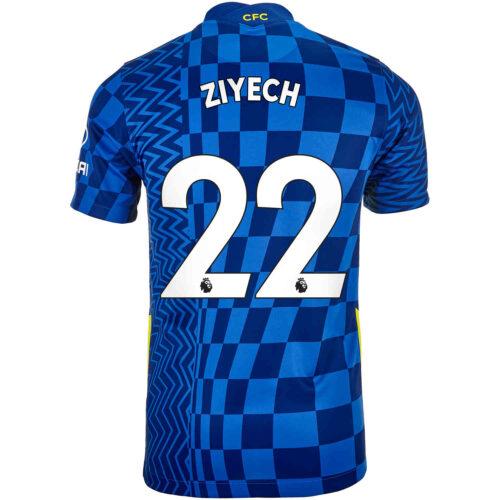 2021/22 Kids Nike Hakim Ziyech Chelsea Home Jersey