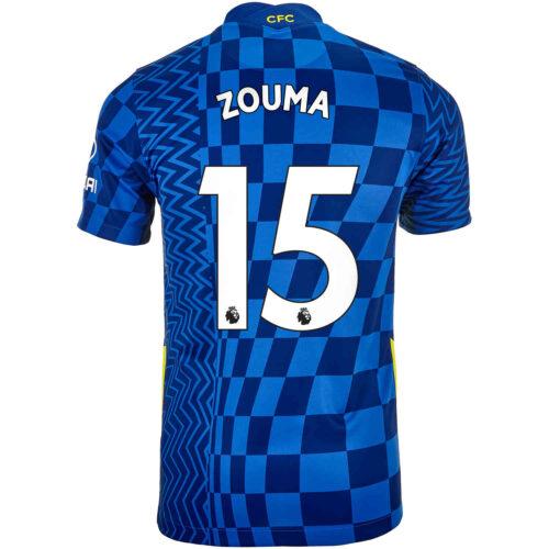 2021/22 Kids Nike Kurt Zouma Chelsea Home Jersey