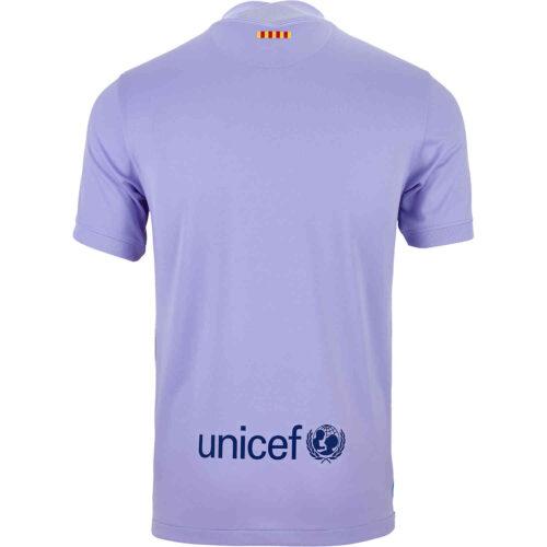 2021/22 Kids Nike Barcelona Away Jersey