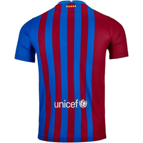 2021/22 Kids Nike Barcelona Home Jersey