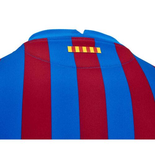 2021/22 Kids Nike Lionel Messi Barcelona Home Jersey