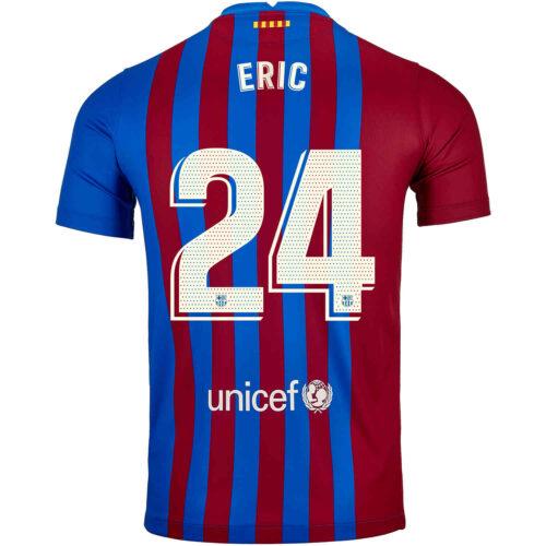2021/22 Kids Nike Eric Garcia Barcelona Home Jersey