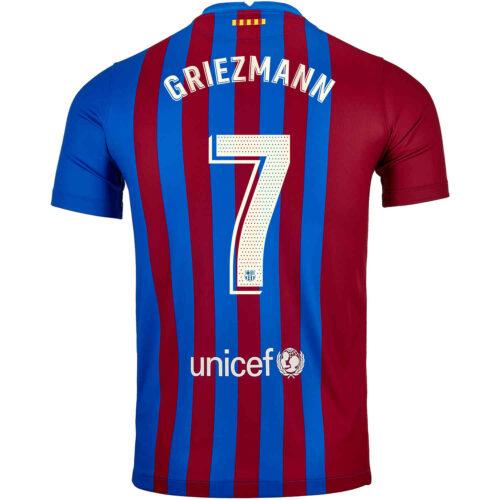 2021/22 Kids Nike Antoine Griezmann Barcelona Home Jersey