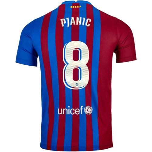 2021/22 Kids Nike Miralem Pjanic Barcelona Home Jersey