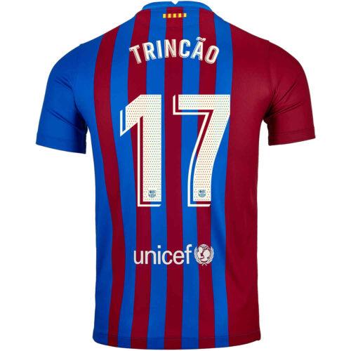 2021/22 Kids Nike Francisco Trincao Barcelona Home Jersey