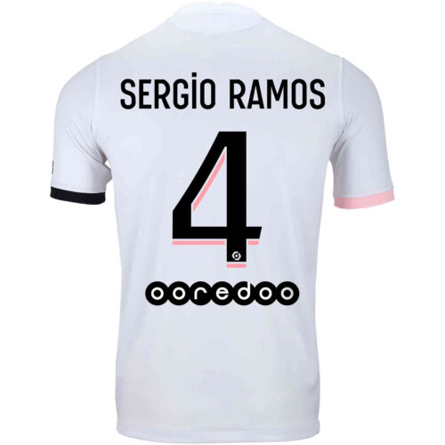 2021/22 Kids Nike Sergio Ramos PSG Away Jersey