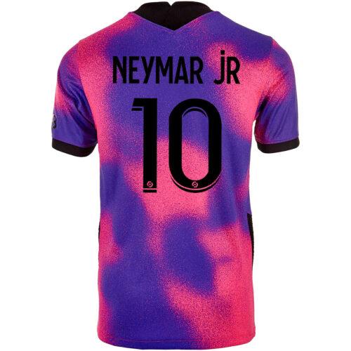 2020/21 Kids Jordan Neymar Jr PSG 4th Jersey