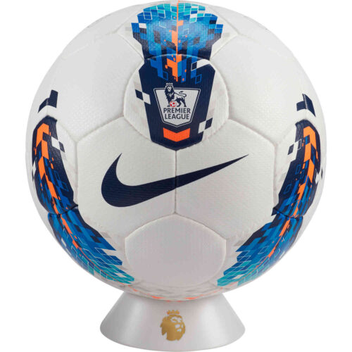 Nike Premier League Seitiro Official Match Soccer Ball – White & Blue