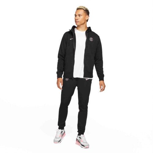 Nike PSG NSW Full-zip Lifestyle Hoodie – Black/Arctic Punch