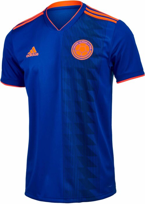 adidas Colombia Away Jersey 2018-19 NS