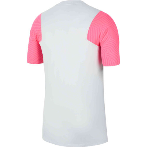 Nike PSG Strike Training Top – Pure Platinum/Hyper Pink