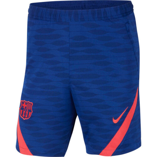 Nike Barcelona Dry Strike Training Shorts – Deep Royal Blue/Light Fusion Red