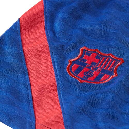 Nike Barcelona Dry Strike Training Shorts – Deep Royal Blue/Light Fusion Red