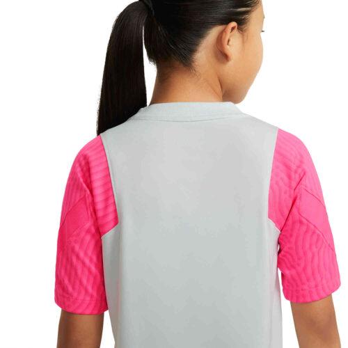 Kids Nike PSG Strike Training Top – Pure Platinum/Hyper Pink
