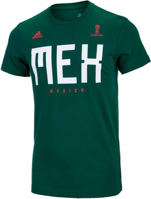 adidas Mexico Tee – Collegiate Green