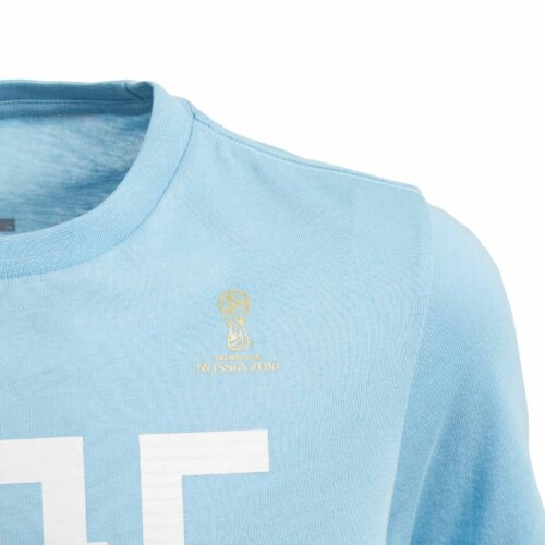 adidas Argentina Tee – Youth – Clear Blue