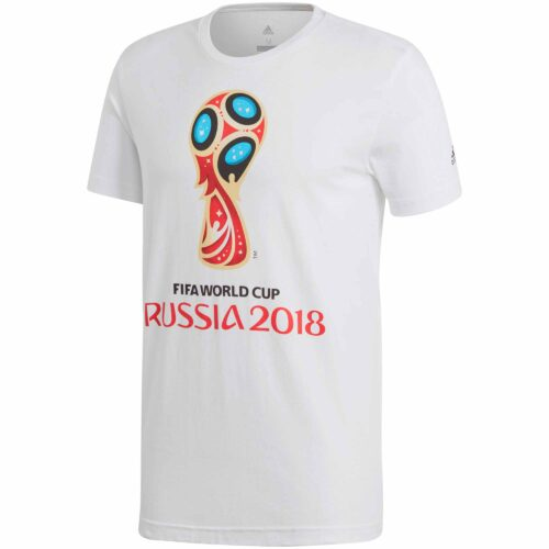 adidas World Cup Emblem Tee – White