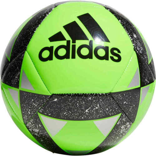 adidas Starlancer V Soccer Ball – Solar Green/Black