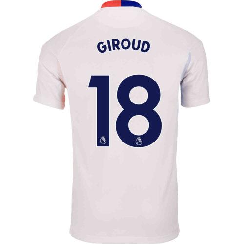 2021 Nike Olivier Giroud Chelsea Air Max Jersey