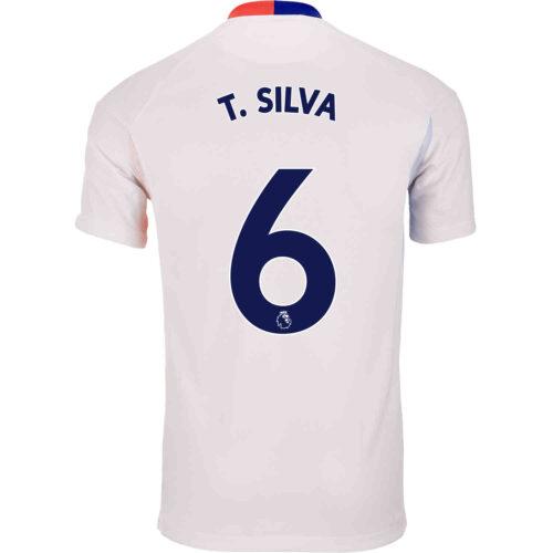 2021 Nike Thiago Silva Chelsea Air Max Jersey