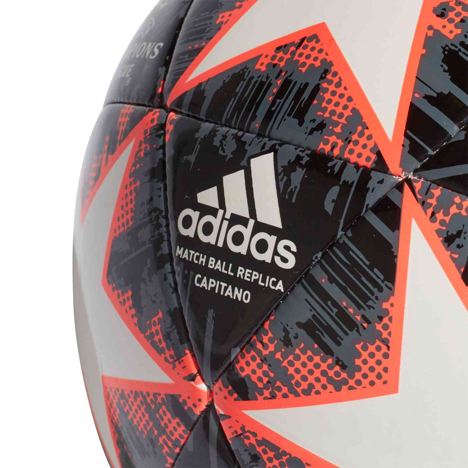 adidas Finale 18 Capitano Soccer Ball - White Black Gray 5 Solar Red ... 4ba906c8c0