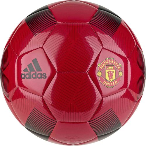adidas Manchester United Soccer Ball – Real Red/Black