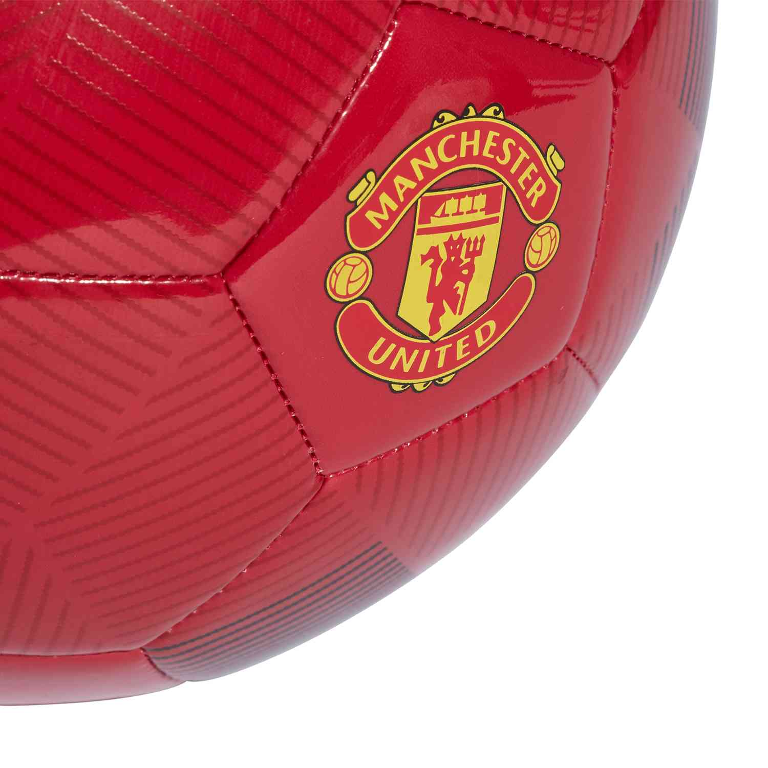 Adidas Manchester United Soccer Ball Real Red Black Soccerpro