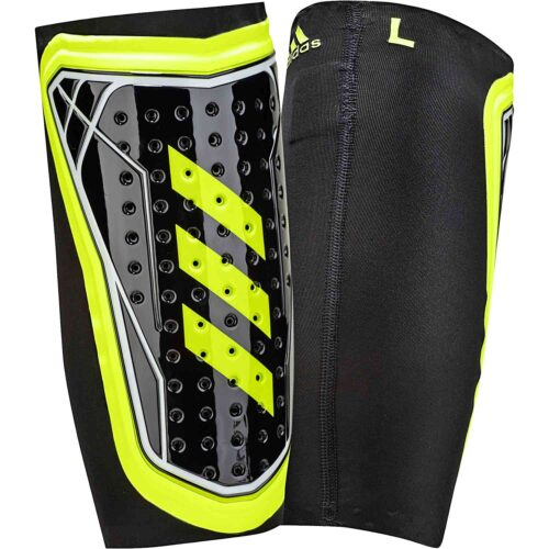 adidas X Foil Shin Guard – Black/Solar Yellow