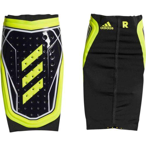 adidas X Foil Shin Guard – Black/Solar Yellow