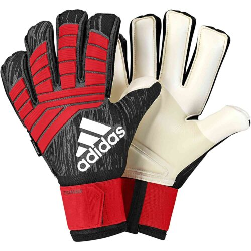 adidas Predator Pro FS Goalkeeper Gloves – Black/Red