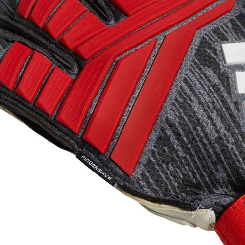 adidas Predator Pro FS Goalkeeper Gloves – Black/Red