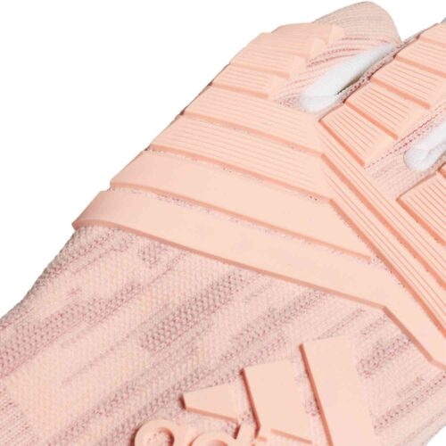 adidas Predator Pro Goalkeeper Gloves – Clear Orange/Trace Pink